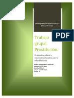 Intervención prostitución
