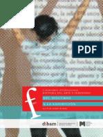 Seminario Arte y Feminismo Chile 2013