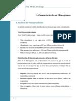 Ficha II. Comentario de Un Climograma
