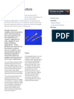 Live Line Capacitors & Indicators _ HV Ceramic Capacitors