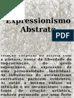 expressionismo abstrato - slide