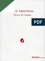 Ode Triunfal - Alvaro de Campos