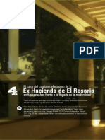 Pérez Rico, Gilberto. El caso del cambio del entorno de la Ex-Hacienda de El Rosario en Azcapotzalco, frente a la llegada de la modernidad.