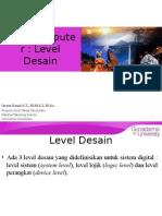Level Desain - Mikrokomputer
