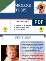 EPIDEMIOLOGI PERTUSIS