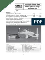 Enerpac ATM-5 Manual