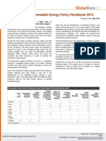 Asia Pacific Renewable Energy Policy Handbook 2012