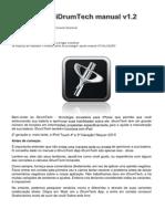 IDrumTech User Manual Traduzudo Para Português BR