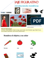 Lenguaje Figurado-80 Diapos-niños Comparaciones Metáforas