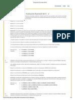 Evaluaciones Nacionales 2014-2