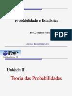 Unidade II - Teoria Da Probabilidade