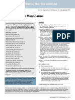 Osteoporosis in Menopause 2014