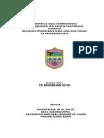 Contoh Prop Ijin Operasional TK