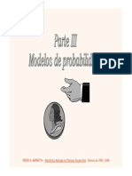 Cap 7 - Modelos de Probabilidade