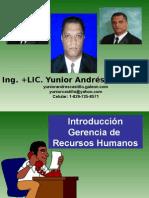 Introduccion Gerencia Recursos Humanos