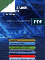 Luis Villoro Cap 5 Motivos Para Creer