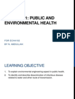 Environmental Health ECH4102