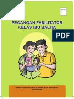 Cover Pegangan Fasilitator Kelas Ibu Balita