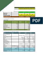 Excel de Frutas
