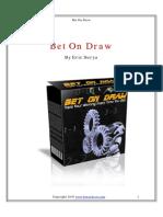 Bet on draw