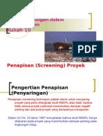 Aspek Lingk Kuliah 10