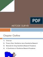 Wk 09 Metpen Metode Survei