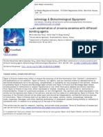 Resin Cementation of Zirconia Ceramics With Different Bonding Agent