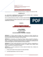 Ley Orgánica Poder Judicial de Oaxaca