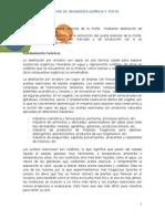 Informe N°2  TRANSFERENCIA DE MASA II