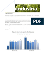 CARACTERISTICAS AGROINDUSTRIALES