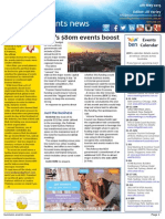 Business Events News for Mon 04 May 2015 - Vic's $80m events boost, Dubai MICE numbers up, A day at CINZ, Events Calendar, and much more