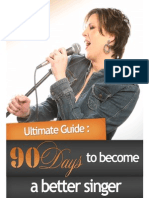 90 Days to Become a Better Singer