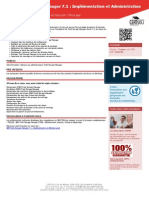 TS613G Formation Ibm Tivoli Storage Manager 7 1 Implementation Et Administration
