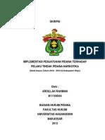 Skripsi Lengkap Pidana Ardillah Rahman