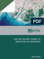 DFDL Myanmar Tax Pocket Guide 2015