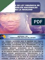 1-leyorgnicadelosconsejosnacionalesparalaigualdad-120218123626-phpapp01.ppt