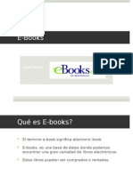 La base de datos E-books