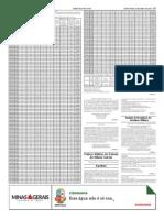 Lista Geral Das Notas Atribuidas Aos Candidatos Na Prova Oral Publicado No Minas Gerais Em 24042015