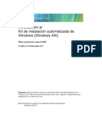 Microsoft Windows AIK - Introducción Al Kit de Instalación Automatizada de Windows