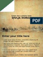 DIVLJA HORDA
