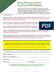 Rebate Forms - 2010 - Website