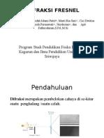 Difraksi Fresnel