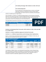 Currency Forecasts and Trading Strategy Assignment_S1 2015 - Work Copy