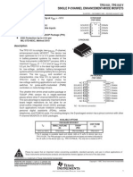 [TI] SINGLE P-CHANNEL ENHANCEMENT-MODE MOSFETS.PDF