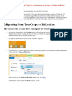 Warning Truecrypt