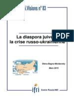 La diaspora juive et la crise russo-ukrainienne