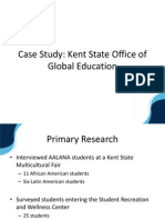 Kent State University Office of Global Education PowerPoint