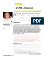 Decoded Aug13 NFPA 80 2013 Changes