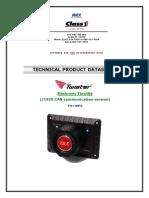 119970 - Twister Electronic Throttle, Can - 120477 Oem External Datasheet - 1-5-2010