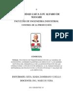 Primera Consulta-control de La Producción (Kiara Zambrano)
